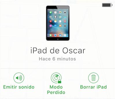 Como usar Buscar mi Mac Opciones