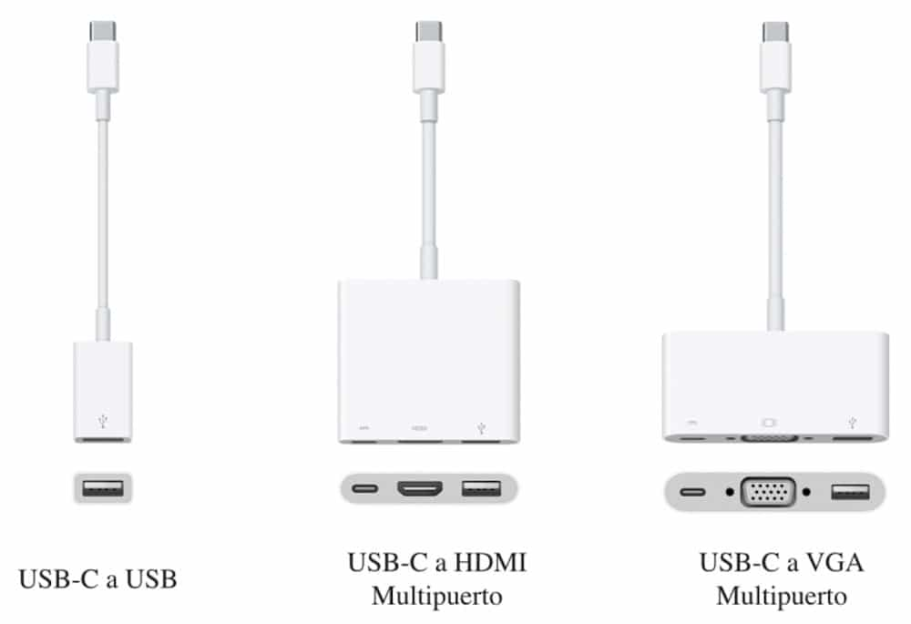 MacBook Adaptadores USB-C