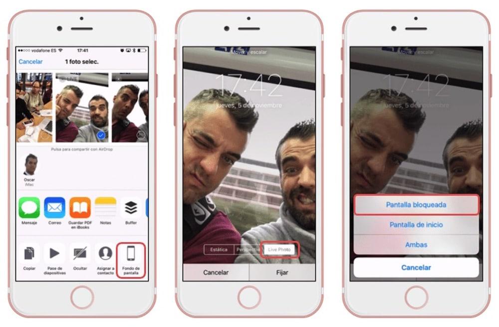 Cómo Usar Tus Live Photos Como Fondo De Pantalla En Iphone O Ipad