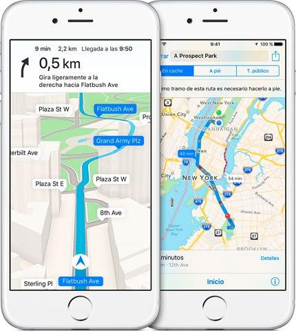 Apple Mapas Navegacion