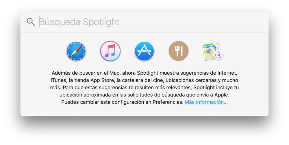 Spotlight Mac OS X