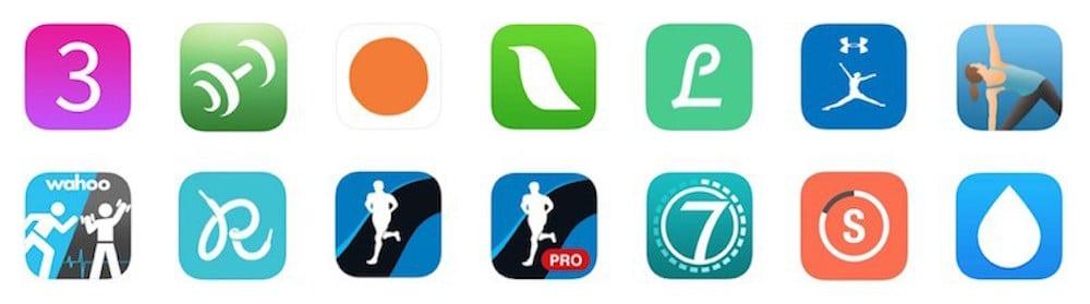 Apps Ejercicio año nuevo, vida nueva