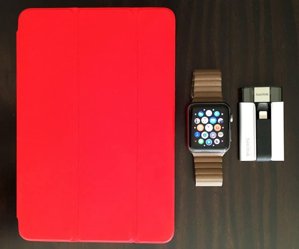 iXpand iPad Mini Apple Watch