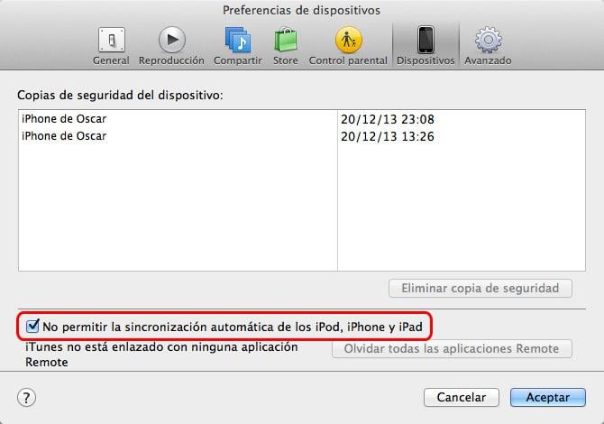 Pasar música del iPhone a Mac - No sincronizar