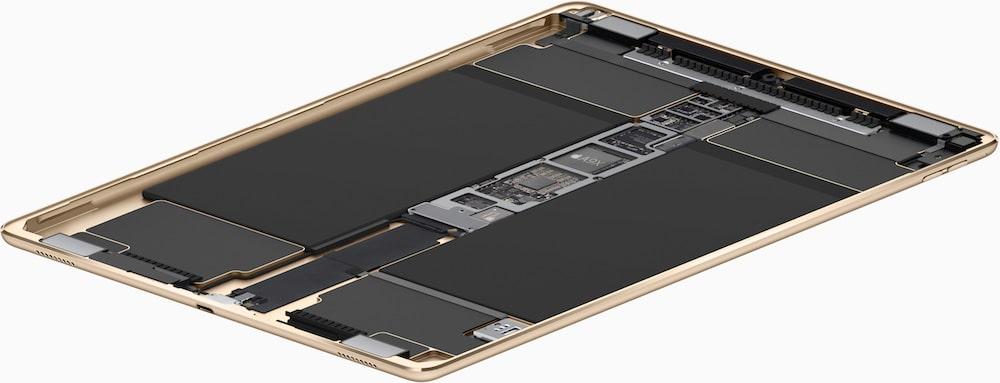 iPad Pro interior