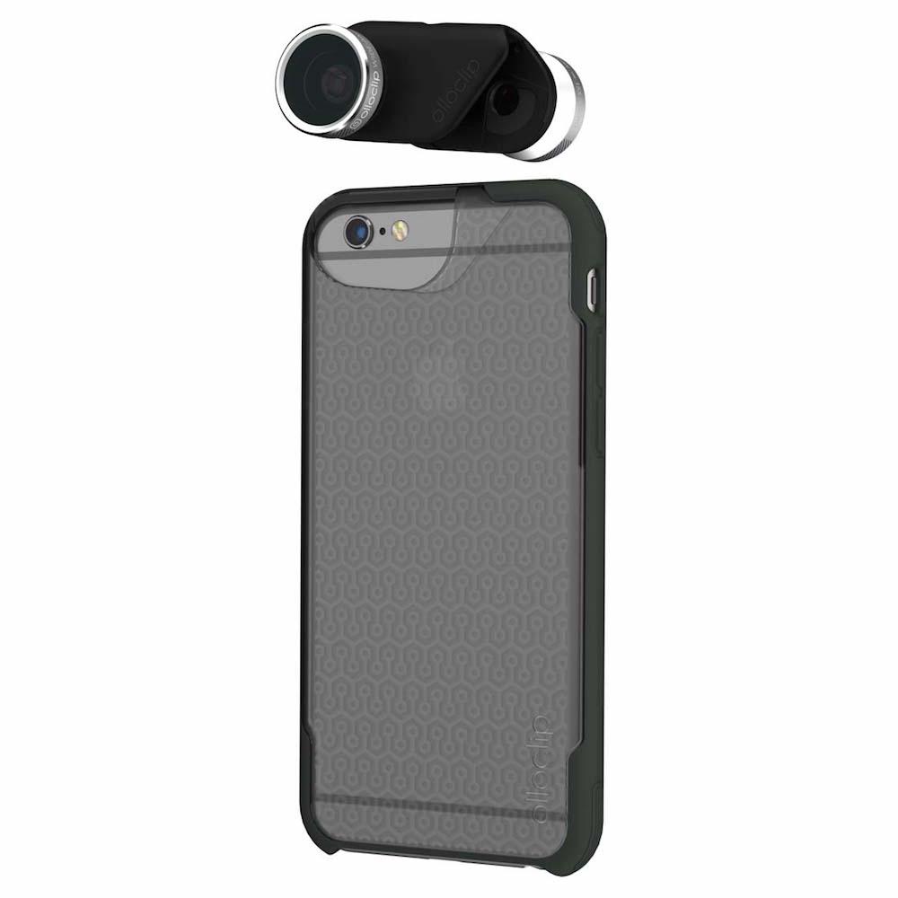 iPhone OlloCase y Olloclip Active Lens